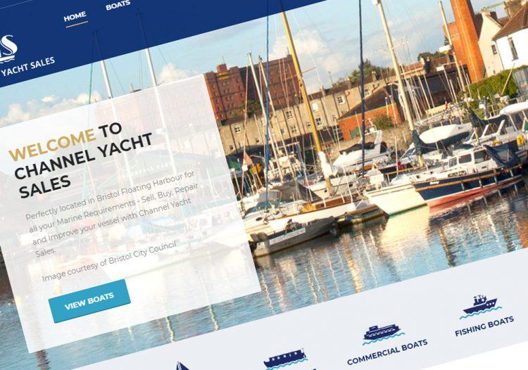 Channel Yacht Sales – Bristol Website
