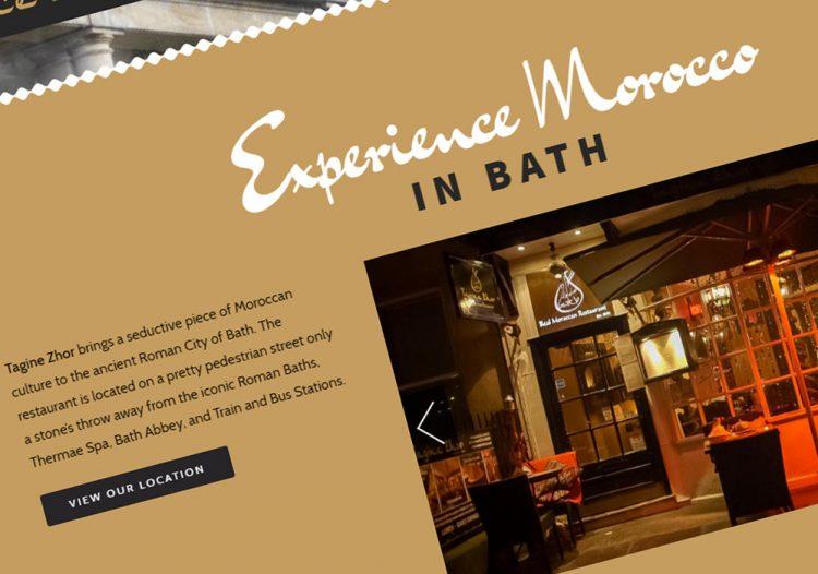Tagine Zhor – Bath Website