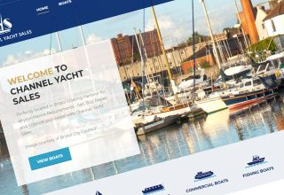 Channel Yacht Sales – Bristol Website